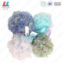 New style bath sponge with silk
