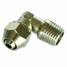 Pneumática Fitting/One toque bronze encaixe (conector macho do cotovelo)