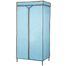 Hot Sale DIY Adjustable 3 Tiers Steel Frame Wardrobe Rack for Bedroom