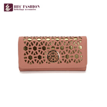 HEC Wholesale Cell Phone PU Leather Wallet Ladies Bag Purses
