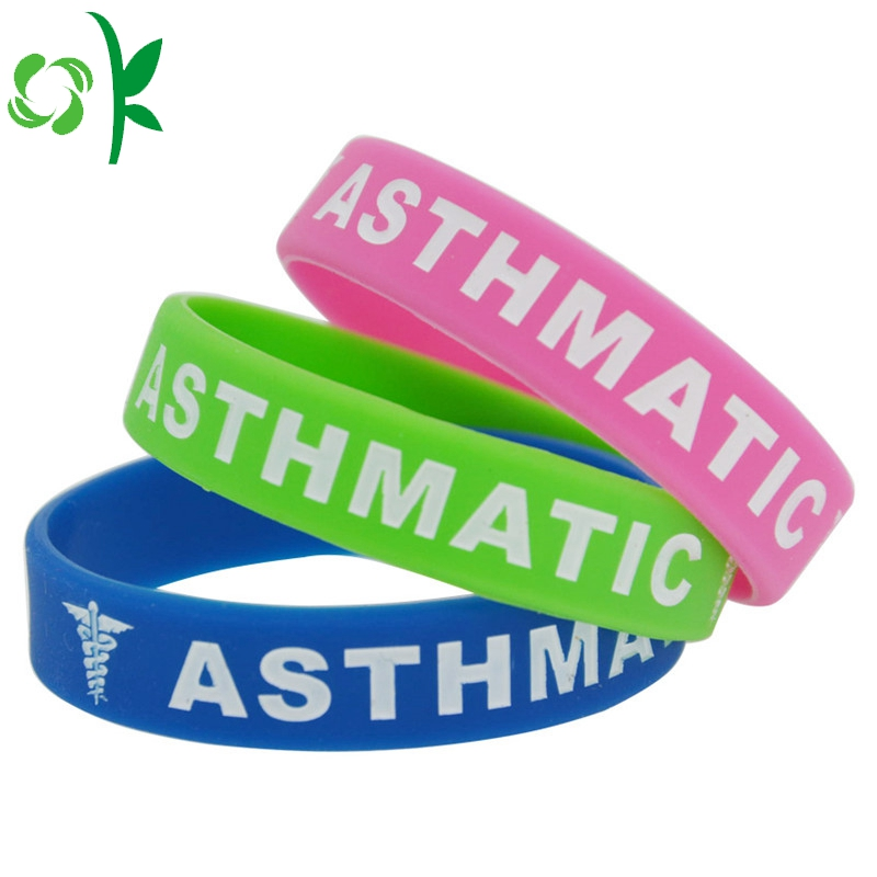 3 Color Debossed Wristband