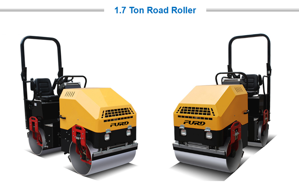 2Ton Road Roller Compactor