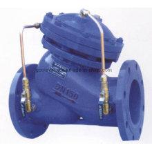 Válvula de control multifuncional de la bomba de agua del tipo de diafragma Jd745X