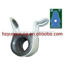 línea de construcción de hardware de energía eléctrica que se ajusta la protección plástica del ambiente abrazadera multifuncional del gancho de la suspensión del cable
