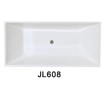 Quadratische Acryl Indoor Einbau-Badewannen (J608)