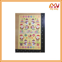 lovely santa Claus stickers of trend christmas gift 2015