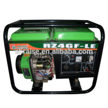 Better Price Portable Copper-wire Air-cooling Diesel Generator AVR protection Function