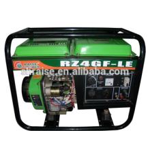 Melhor Preço Portable Cobre-fio Ar-refrigerando Gerador Diesel Proteção AVR Função