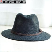 Мода ретро Unisex Summer Sun Wide Brim Straw Hat