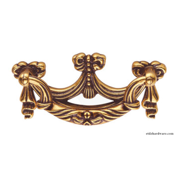 Factory Promotional for European Bronze Colour Furniture Handle,Hardware Furniture Cabinet Handle,Zinc Alloy Handle Manufacturer in China Door Drawer Cabinet Decorate Furniture Handle supply to Lesotho Wholesale