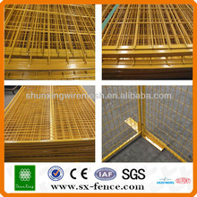 Removable fence panel/Canada High Visibility Temporary fencing Panels supplier(ISO9001:2008 professional manufacturer)
