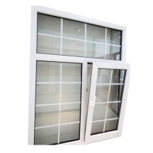 upvc tilt and turn large glass windows in china
