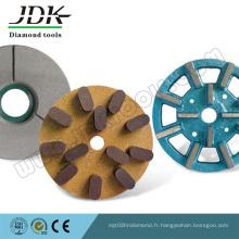 Outils abrasifs abrasifs pour le traitement de la surface de pierre