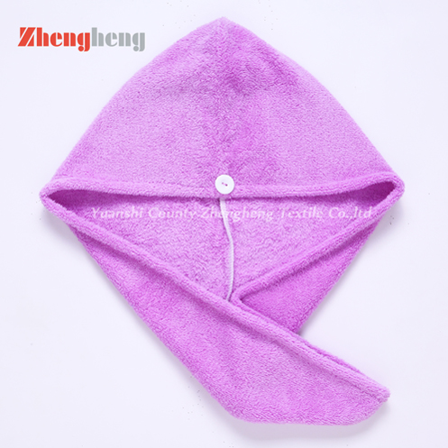 Coral Microfiber Hair Drying Towel