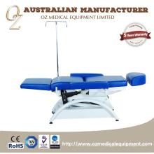 Haute qualité hôpital électrique transfusion sanguine haute chaise arrière usine salle de récupération infusion canapé australien standard