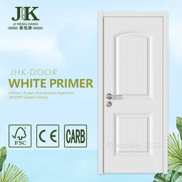 JHK-S04 Blinds Wood Door MDF HDF Door Fancy Interior Doors
