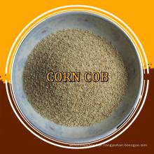 abrasivo e granulado de milho para polir