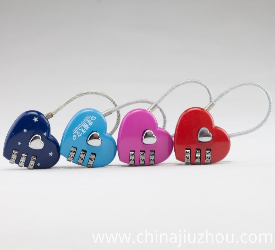 Cute Beautiful Combination Lock