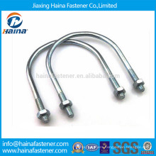 China Grade 4.8 8.8 JIS standards for u-bolt with two nuts