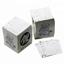 Paper straw printing machine binding postit notes printing paper service