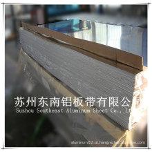 Placa de alumínio aa6061 para caminhão