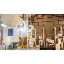 mini planta pequena de ricemill de 2 toneladas / máquina de preço indiano