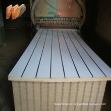 18mm slotted mdf board/slat wall panel/slatwall board