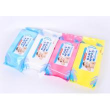 Soft Biodegradable Hydrophilic Spunbond Baby Wet Wipes