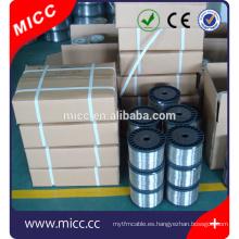 MICC Ocr20ni80 cable eléctrico de resistencia al calor de cromo níquel plano