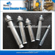 Steel Elevator Expansion Anchor Bolt M12, M16, M24, shark fin expansion bolt Expansion Anchor Bolt