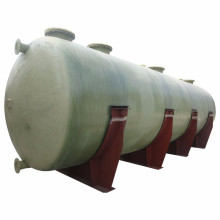 Tanque de fibra de vidrio industrial frp grp ácido sulfúrico (H2SO4)