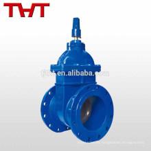 resistente dúctil más ligero sentado hierro dúctil 25mm válvulas de compuerta subterráneas de agua