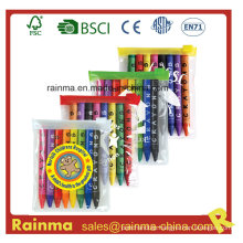 8PCS Color Crayon in PVC Bag