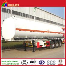 Semi reboque de tanque de armazenamento de aço carbono