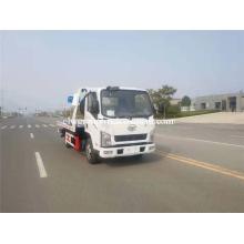 Caminhão de reboque do leito do carro do Wrecker do combustível diesel