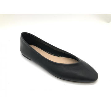 Square Toe Slip On Loafers Office Dress Shoes
