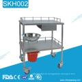 Trole médico da estação de trabalho do hospital SKH002 para a venda