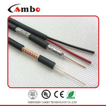 RG59+siamese cable for CCTV/CATV/MATV