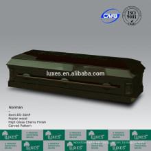 LUXES Metal y la madera del ataúd americano Style(E5-36HP)