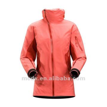 chaqueta impermeable estilo de marca de alta calidad para las mujeres