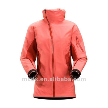 high quality brand style waterproof jacket for women