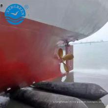 navire marin en mouvement launcing airbag bateau navy airbag