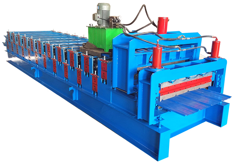 Double Layer Cold Forming Machine