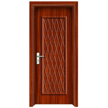 Interior MDF wooden PVC glass door