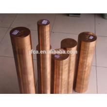 Barre ronde en cuivre de béryllium à résistance à la corrosion C17200