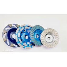 Angle grinder silver brazed cup wheel for granite,marble and concrete products