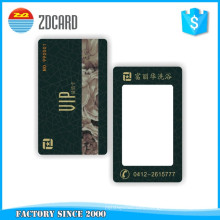 Customized Plastic Rewritable Visual Greeting Card
