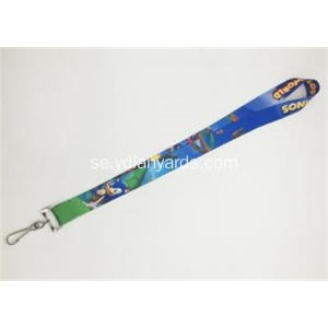 25mm Dye Sublimation Lanyard Med Custom Logo