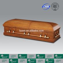 Ataúd y ataúd de chapa de roble americano estilo servicio de cremación