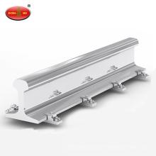Rail ferroviaire en acier de rail léger 22kg Q235 rail en acier